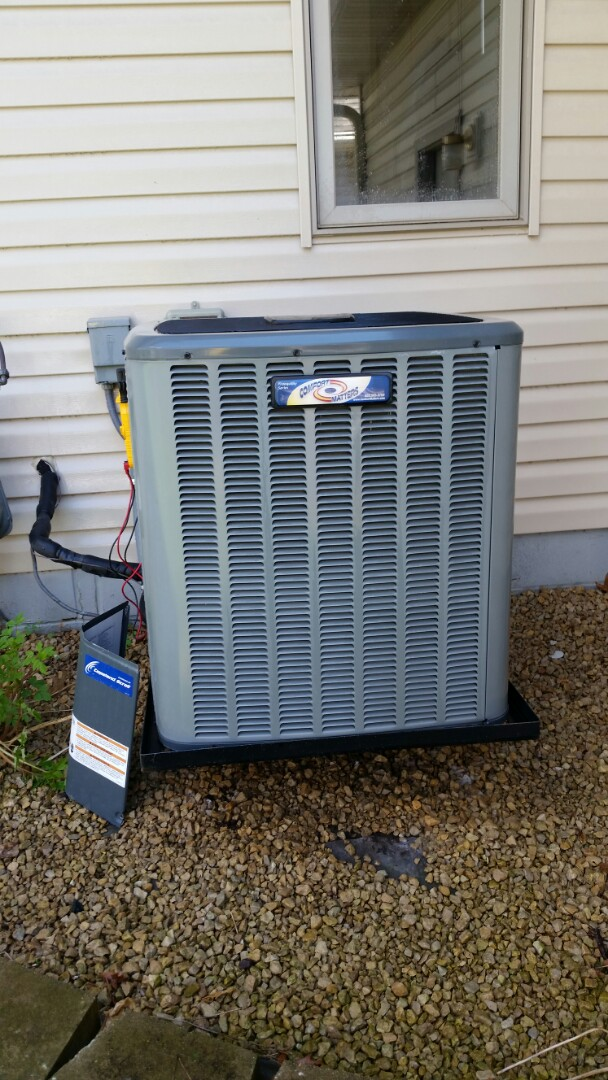 Maple Lake, MN - A/C tune and clean on Goodman unit in Champlin