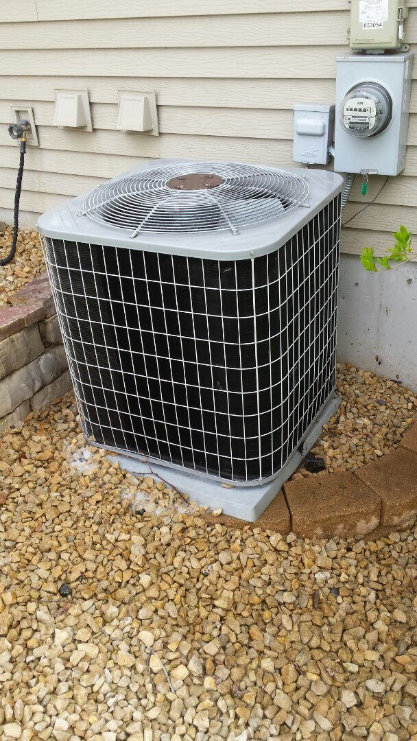 Buffalo, MN - Air conditioner cleaning and tune up on a Carrier