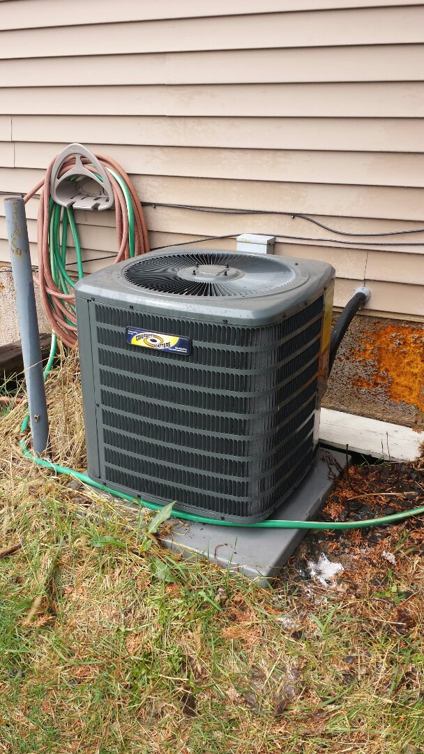 Ramsey, MN - Performed air conditioner tune up and cleaning on Comfort Matters A/C
