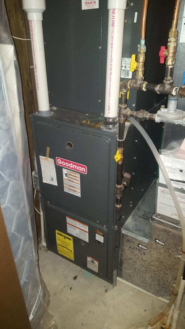 Albertville, MN - Heating service   installed a safety pressure switch.