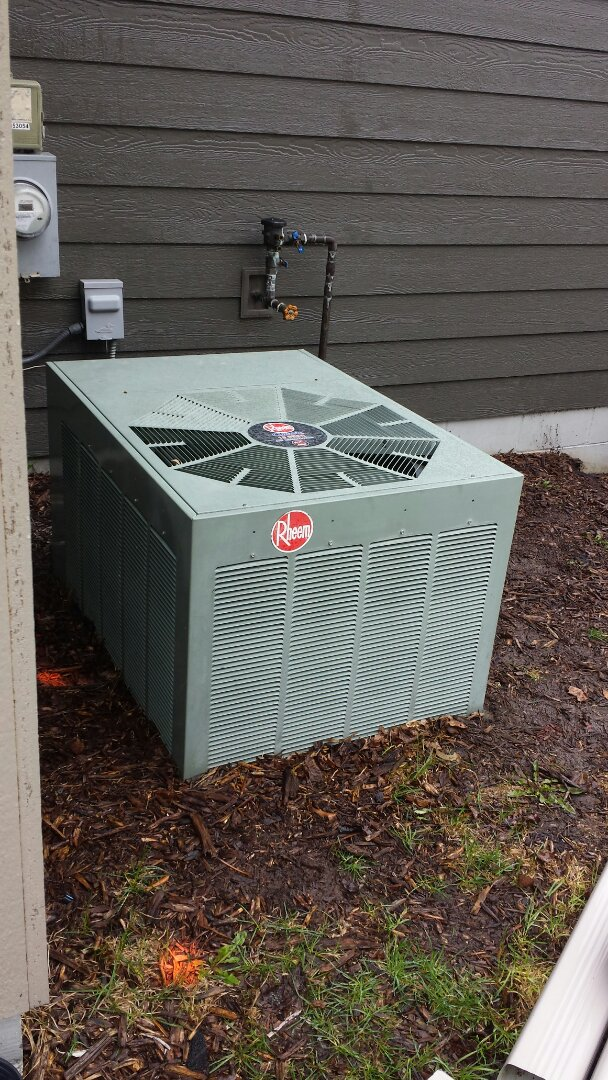 Osseo, MN - Rheem furnace tune up and maintenance.  Rheem ac tune up and maintenance.  Venmar hrv tune up and maintenance