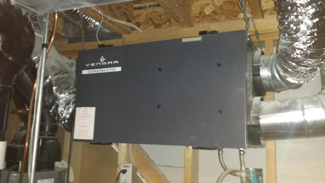 Minnetonka, MN - Repaired vent screen for air handler unit
