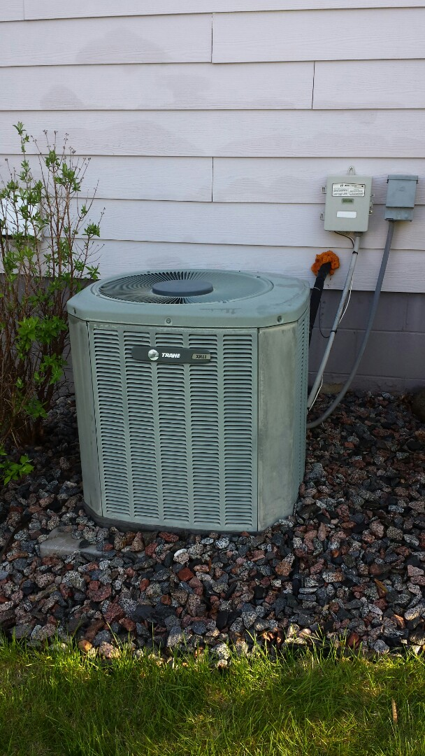 Hanover, MN - Trane cooling system tune up and clean