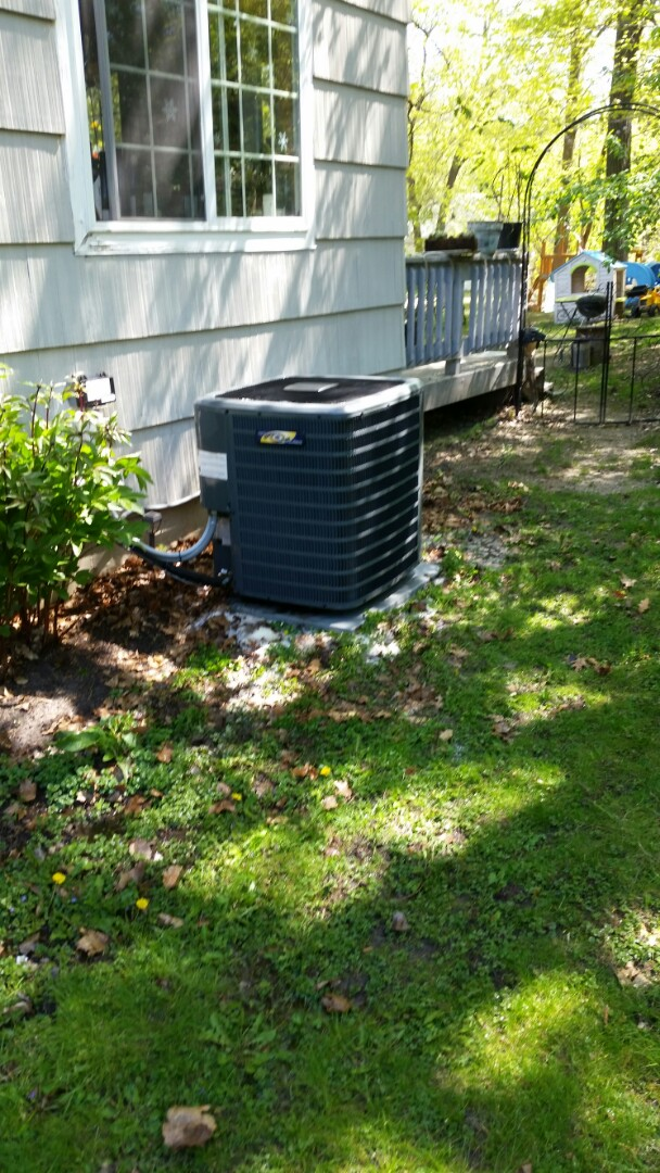 Excelsior, MN - A/C clean and spring tune up on Goodman unit in Exselcior