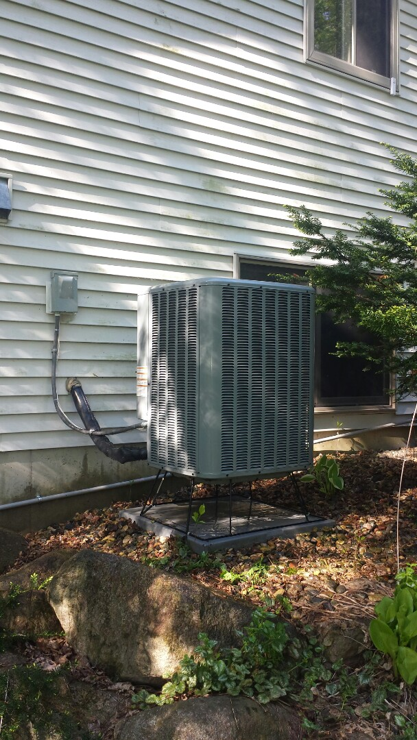 Buffalo, MN - Spring maintenance call. Performed tune up and cleaning on Daikin air conditioner