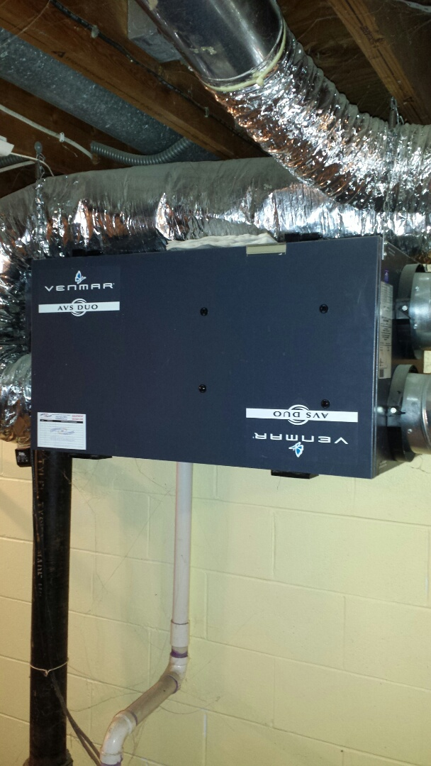 Plymouth, MN - Venmar air exchanger tune up and clean
