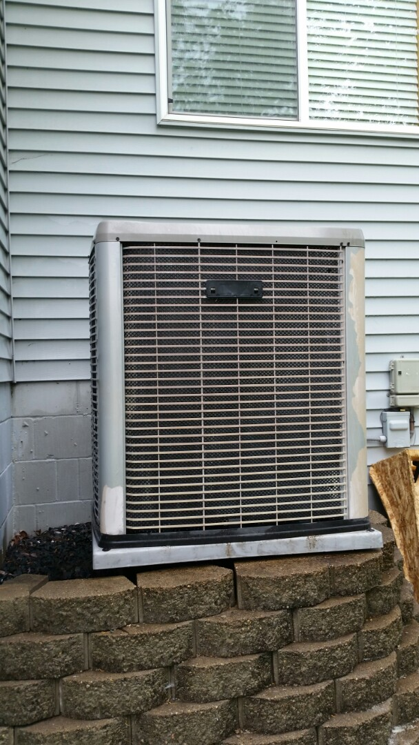 Ramsey, MN - A/C maintenance on Luxaire unit in Ramsey