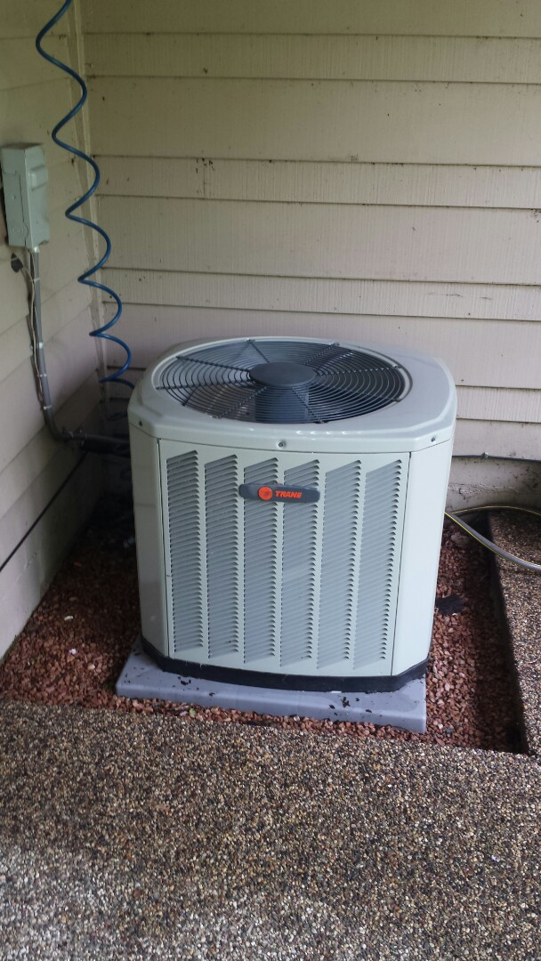 Eden Prairie, MN - Trane cooling system tune up and clean