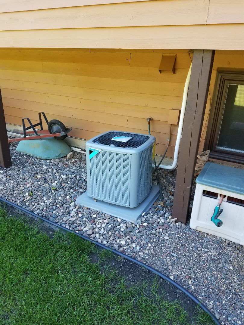Corcoran, MN - Daikin cooling system start up and cleaning