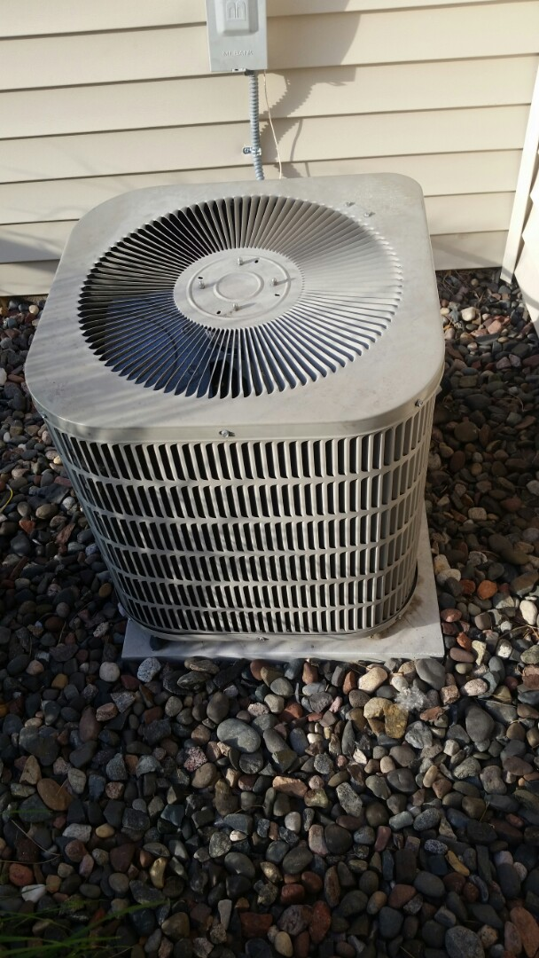Buffalo, MN - A/C low on charge. Added leak preventative and refrigerant