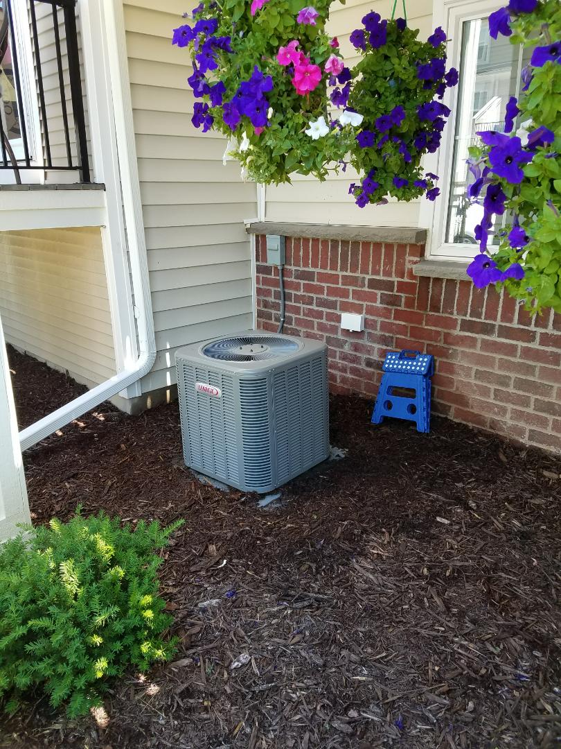 Maple Grove, MN - Lennox ac tune up and clean