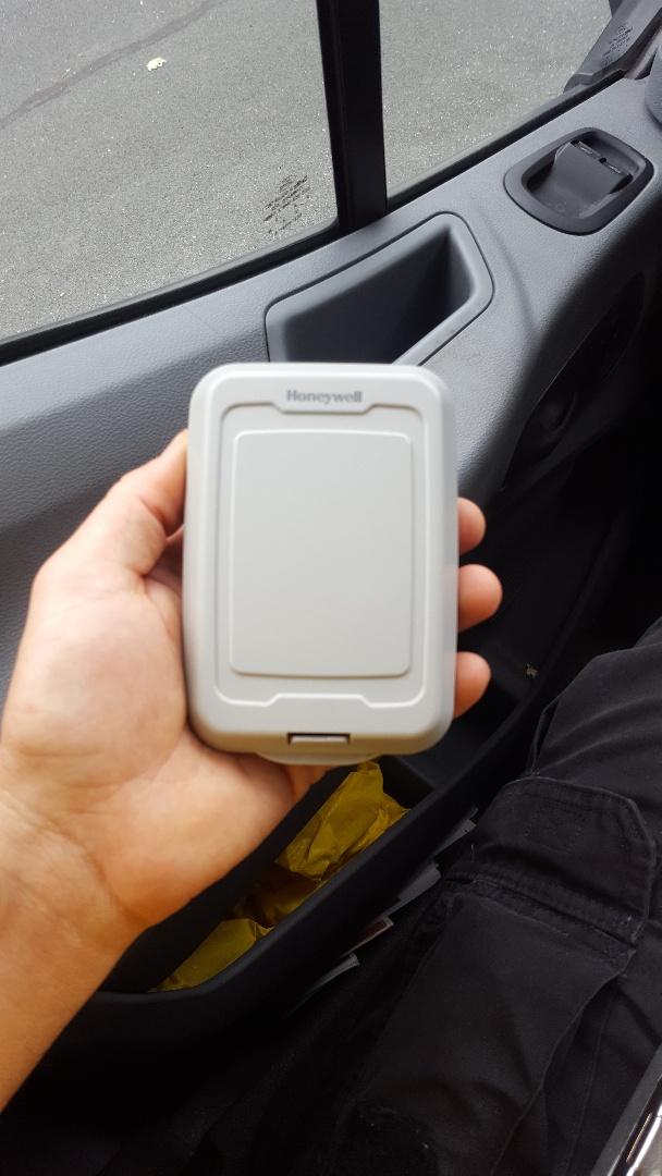 Saint Michael, MN - Thermostat service. Replaced a Honeywell wireless outdoor air sensor.