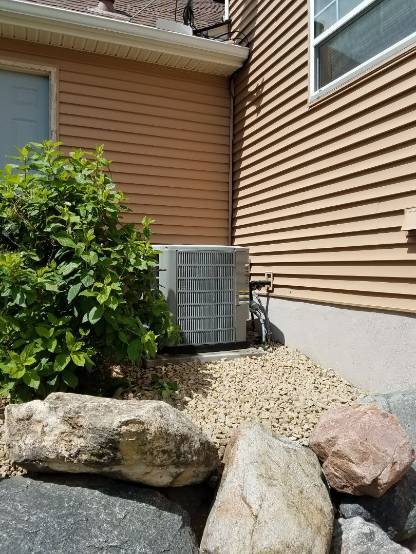 Saint Michael, MN - American Standard cooling system not cooling. Replacement outdoor air movement system