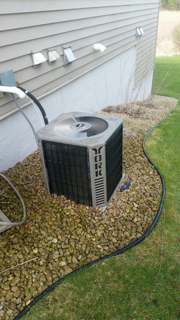 Loretto, MN - A/C maintenance on York system in Hanover