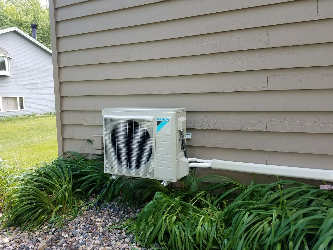 Buffalo, MN - Ductless unit install