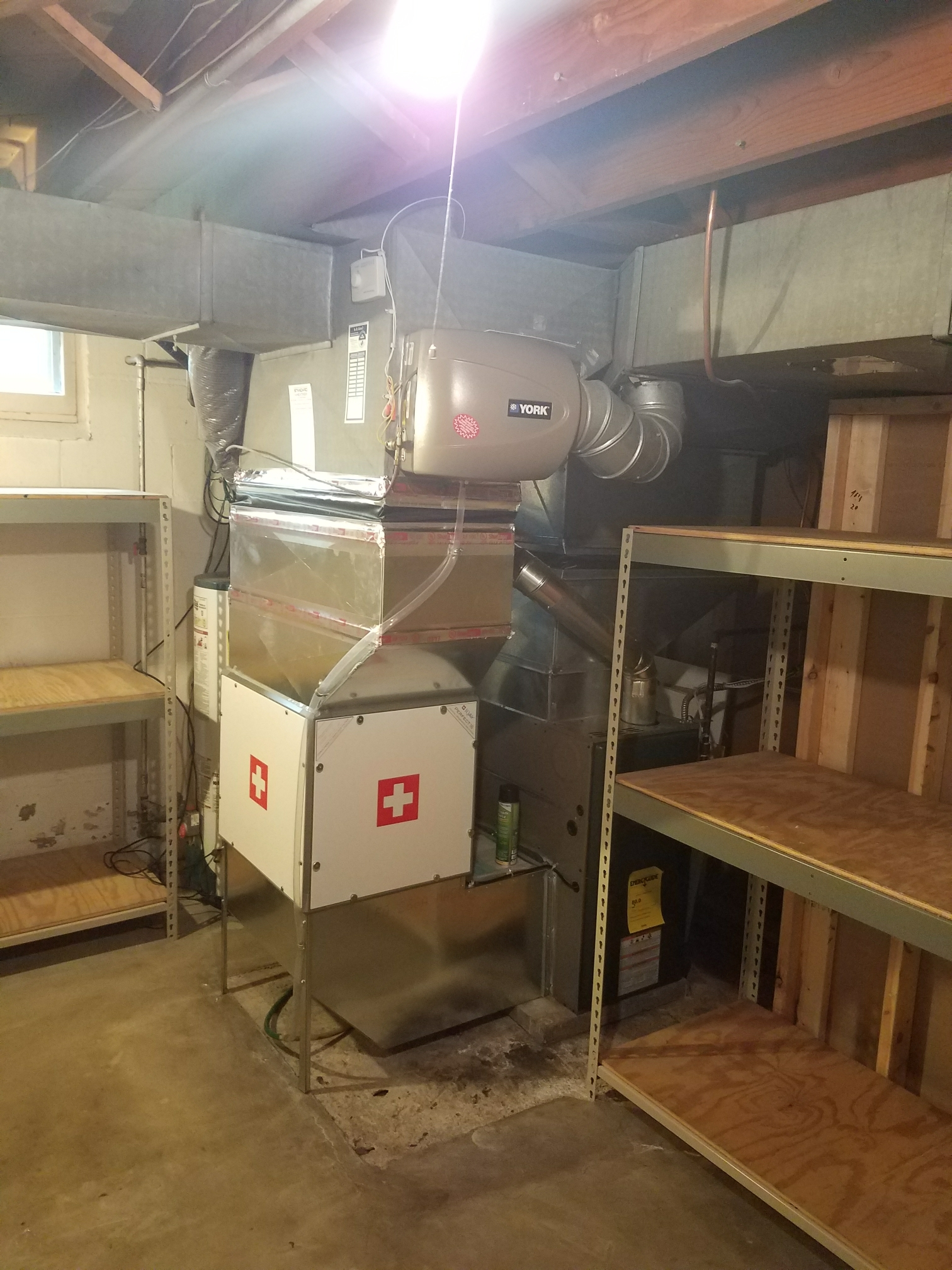 Plymouth, MN - Installed medical grade IQ air.