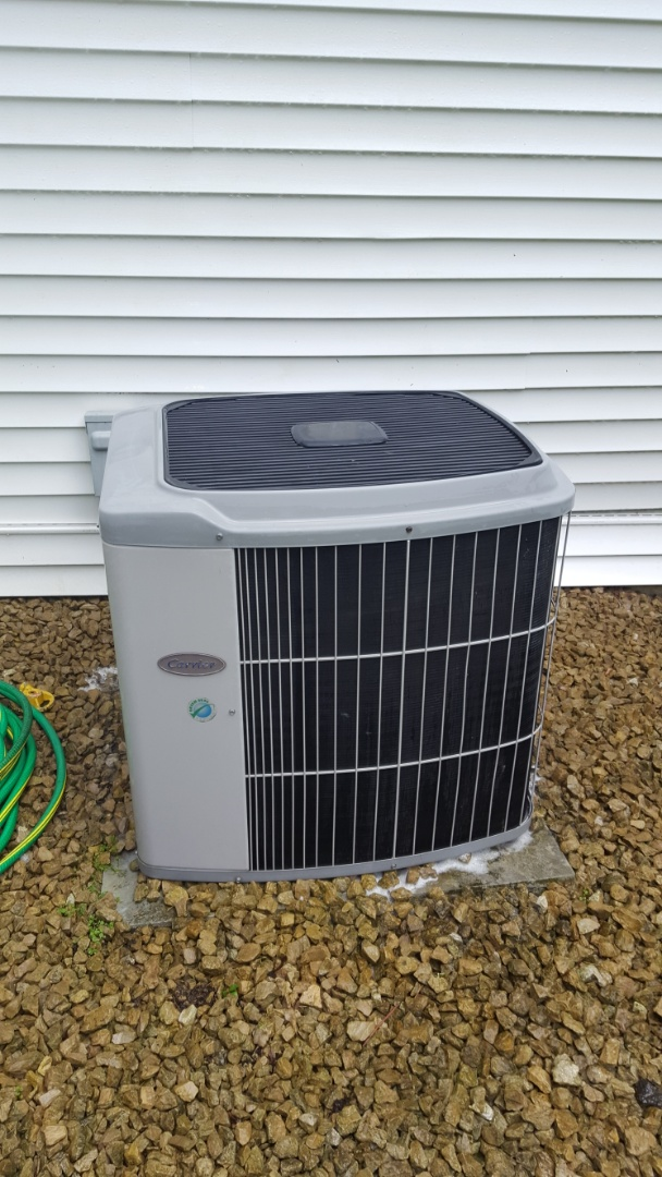 Rogers, MN - Ar conditioner service. Installed a control board on a Lennox furnace. Also performed a cleaning and tune up on a Carrier air conditioner.