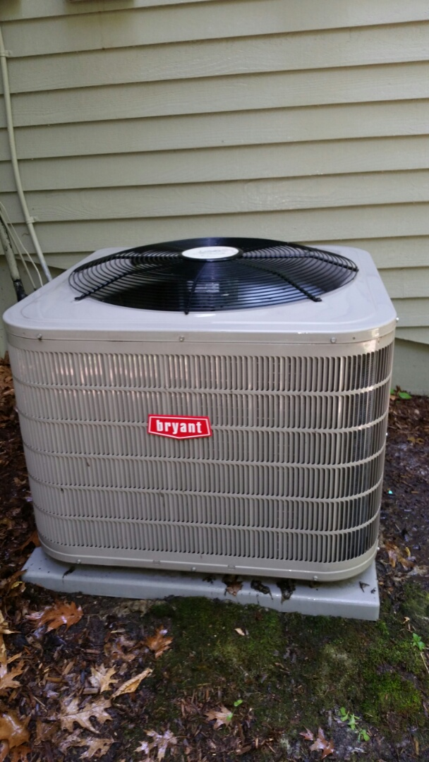 Maple Grove, MN - AC maintenance on Bryant Unit in Maple Grove