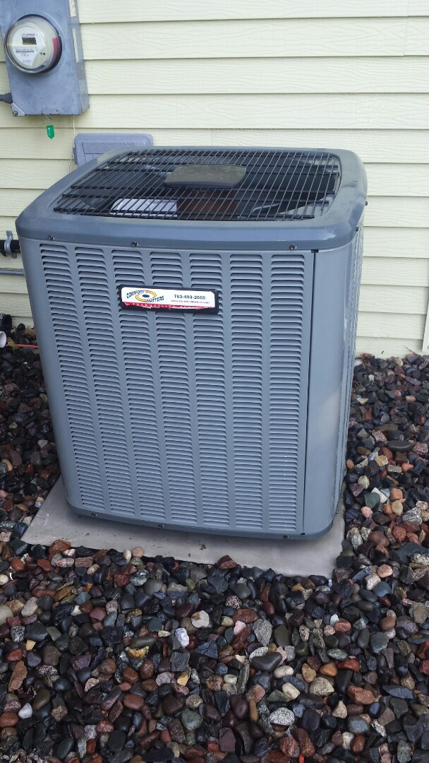 Rogers, MN - A/C tune up on Amana unit in Corcoran