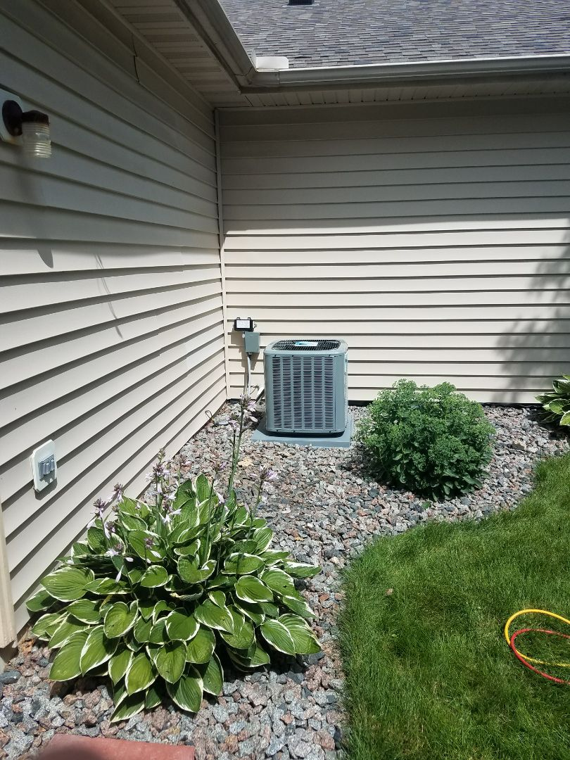 Maple Grove, MN - New furnace and air conditioner install