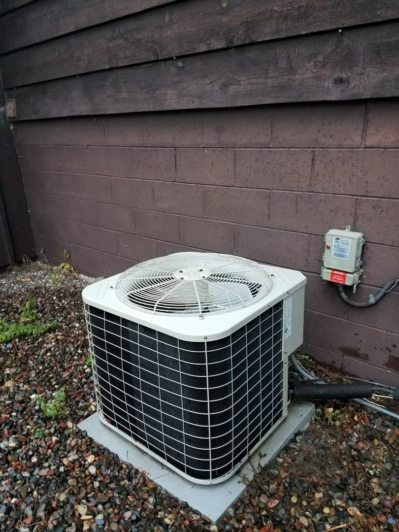New Hope, MN - Performed tune up and cleaning on Bryant air conditioner
