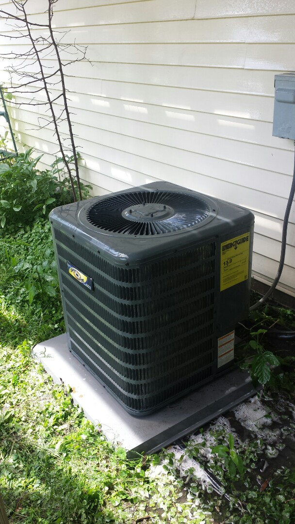 Ramsey, MN - A/C clean and tune on Goodman unit in Ramsey