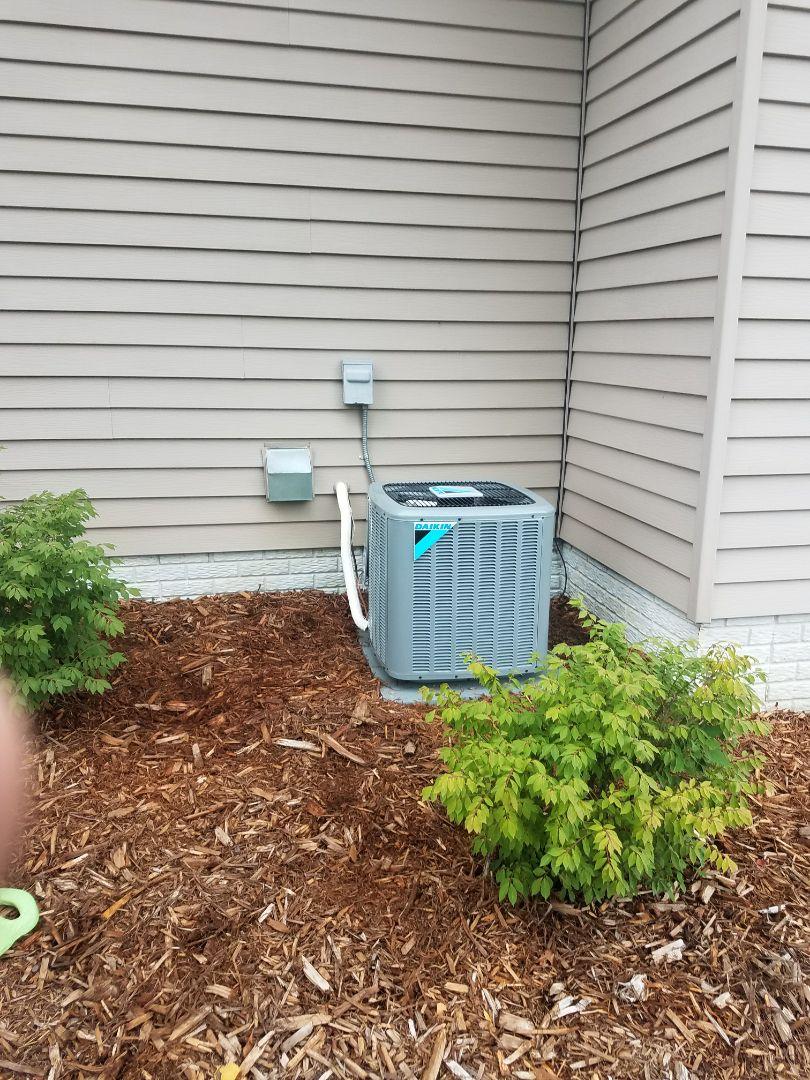 Delano, MN - New AC install