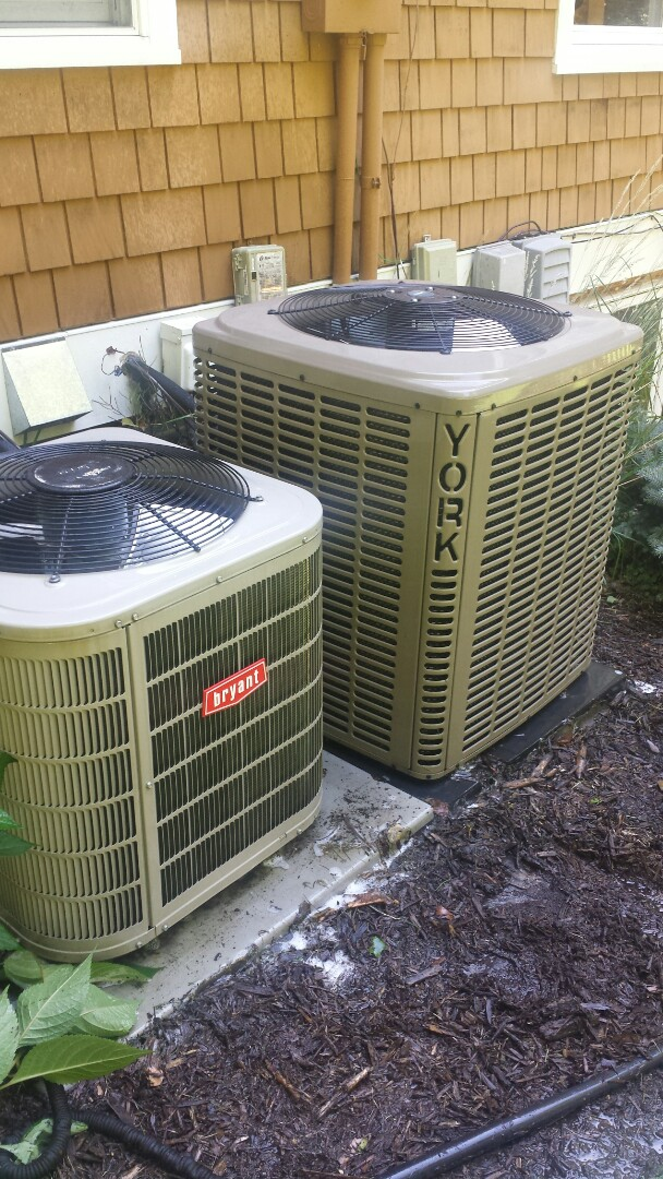 Wayzata, MN - A/C tune up and maintenance on York and Bryant systems in Deephaven