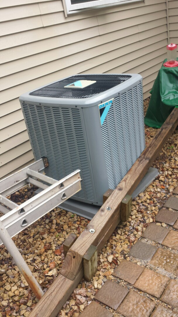 Big Lake, MN - Air conditioning tune up on Daikin unit in Big Lake