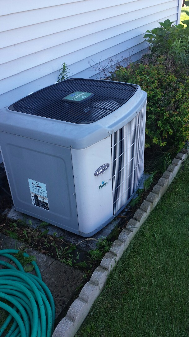 Monticello, MN - Air conditioning tune up on Carrier unit in Monticello