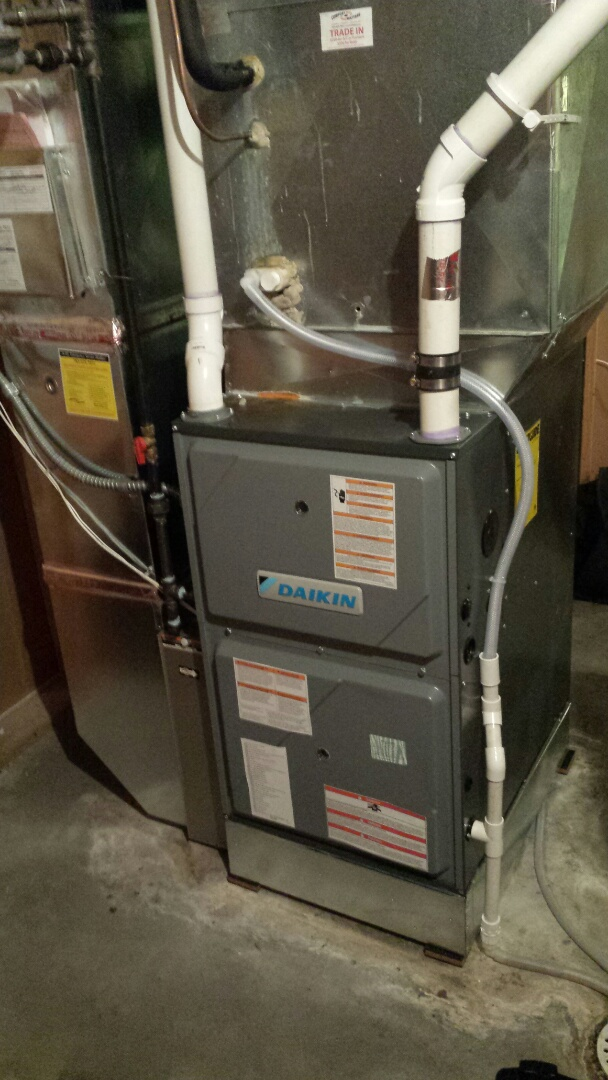 Medina, MN - Furnace tune up on 97% Daikin unit in Medina
