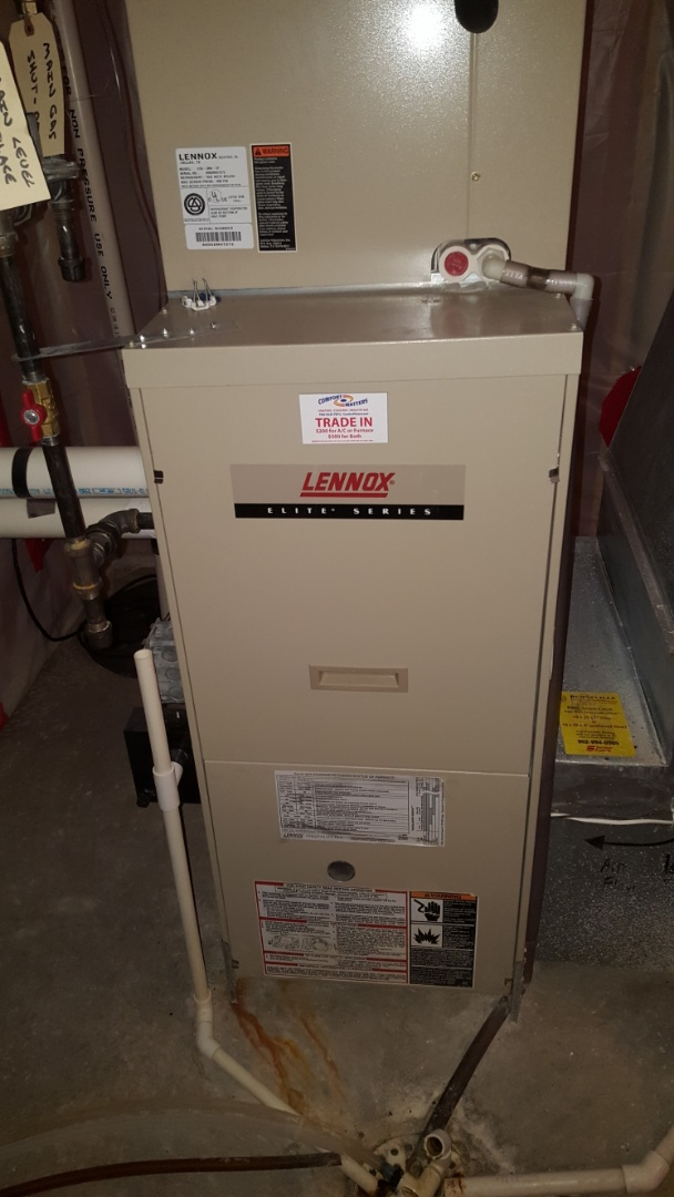 Hopkins, MN - Heating maintenance. Performed a cleaning and tune up on Lennox furnace.