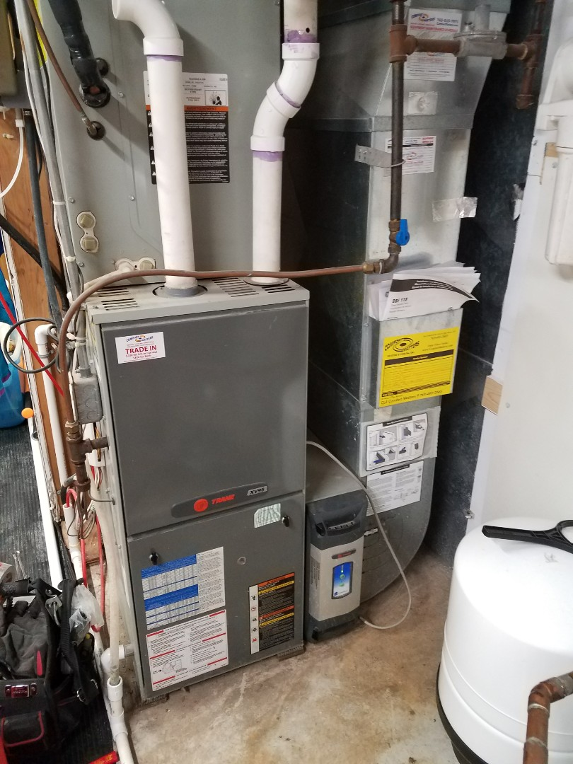 Delano, MN - Trane furnace tune up and clean