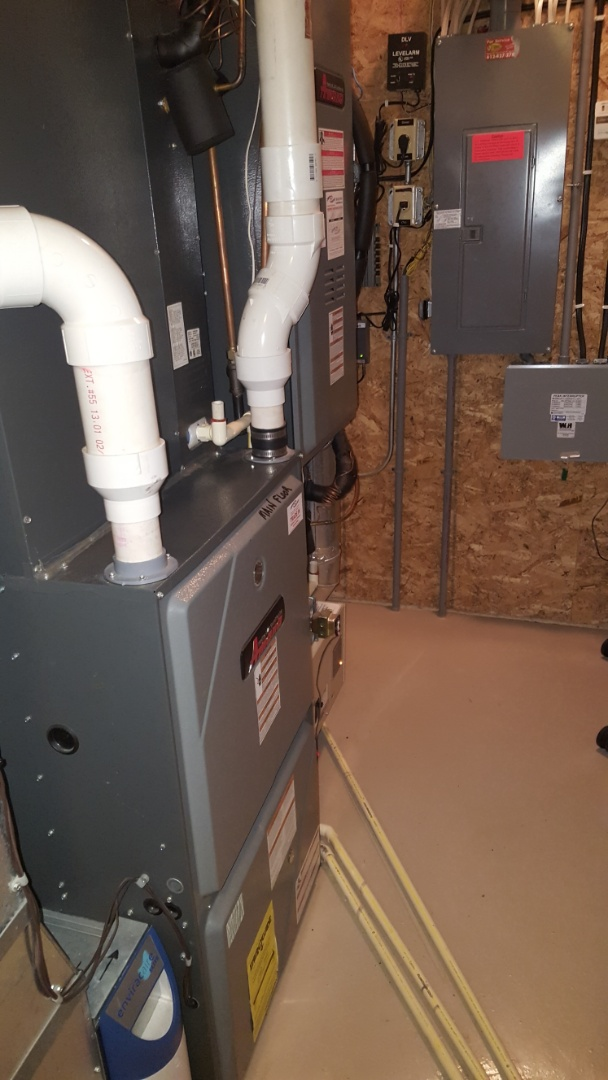 Independence, MN - Heating maintenance. Performed a cleaning and tune up on two Amana furnaces. Also installed 2 Honeywell media filters.