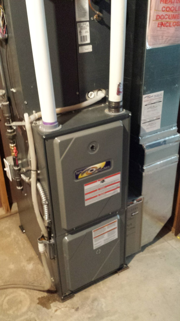 Corcoran, MN - Furnace tune up on 95% efficient Goodman unit in Corcoran