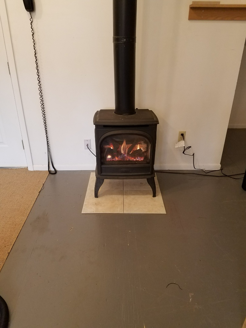 Buffalo, MN - Fireplace heating issues. Thermocouple and fireplace cleaning