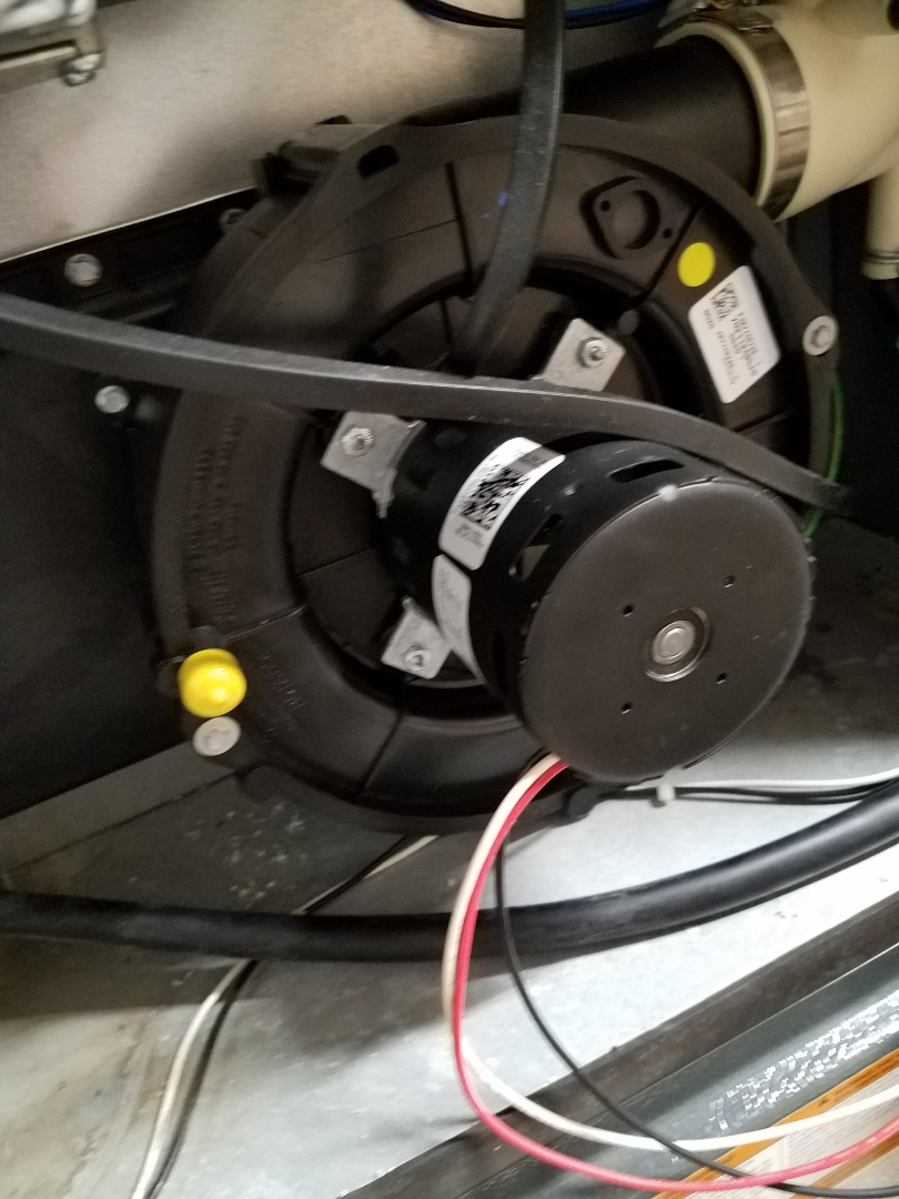 Eden Prairie, MN - Replaced Inducer motor in Amana unit in Maple Grove