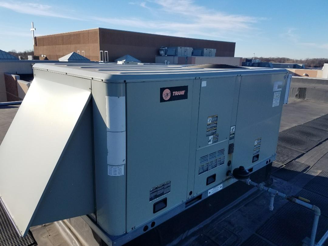 Buffalo, MN - Replace heat exchanger on trane roof top unit in buffalo