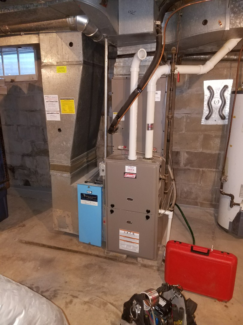 Mound, MN - Coleman furnace tune up and clean