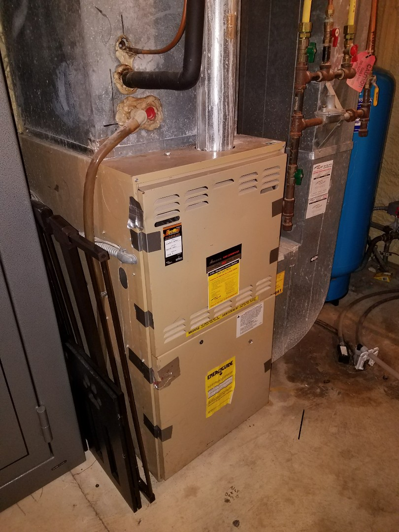 Corcoran, MN - Amana lp furnace.  Repair ignition issue
