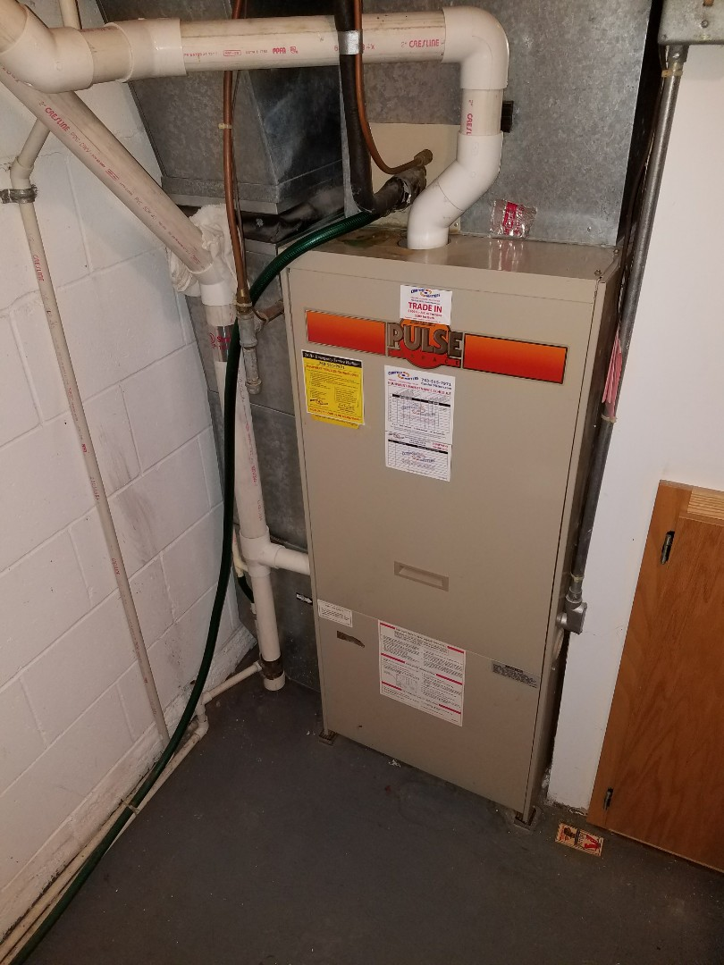 Buffalo, MN - Furnace cleaning and tune up on a Lennox
