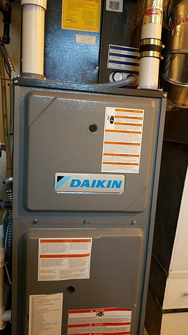 Minnetonka, MN - Furnace tune up on 95% Daikin unit in Minnetonka