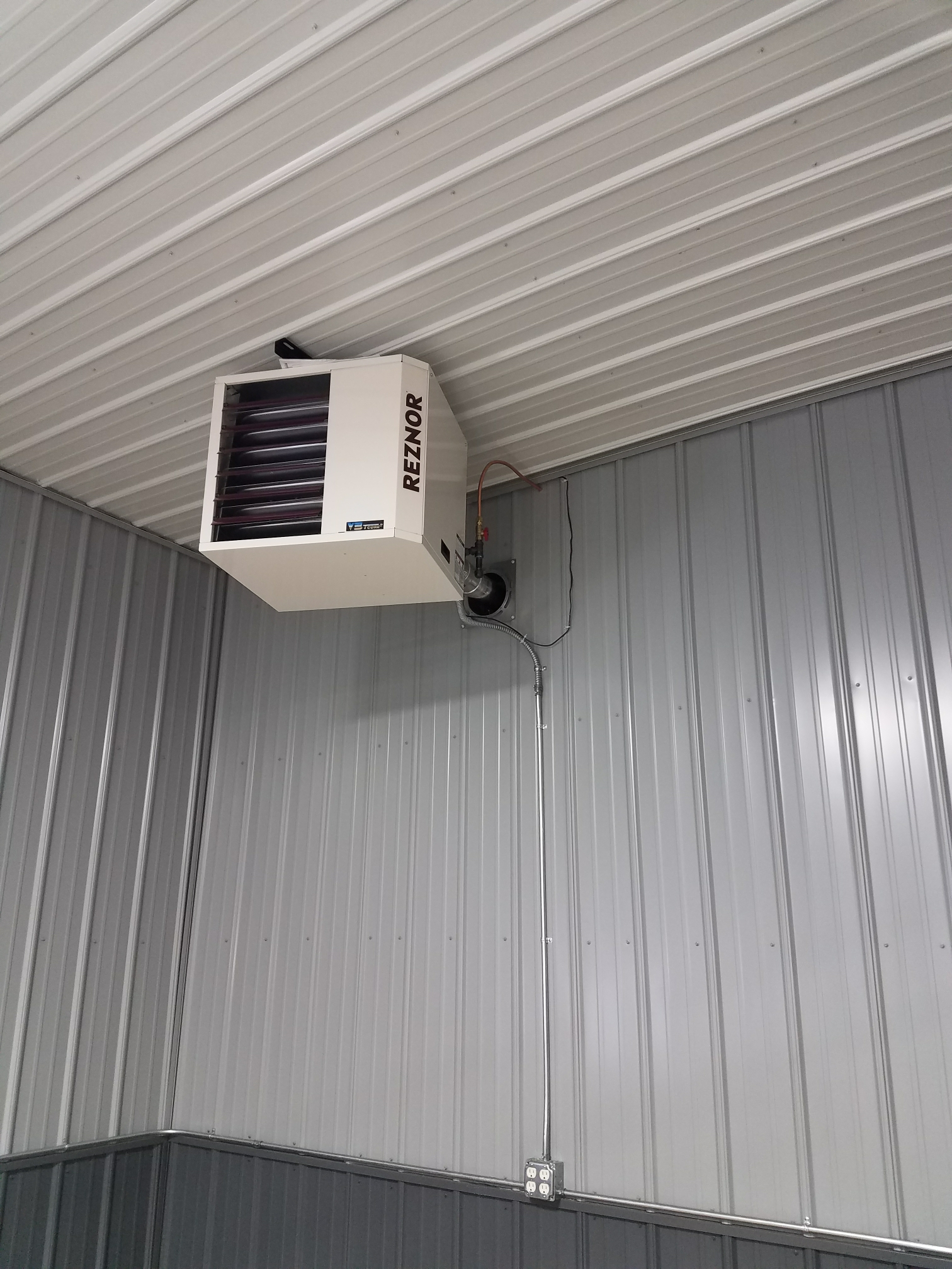 Rogers, MN - Installed reznor garage heater