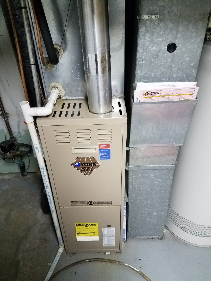 Plymouth, MN - Furnace issues on 80% Unit in Plymouth. Dirty filter was causing limit switch to trip due to lack of filter. Filter has been replaced and system is running to specifications.
