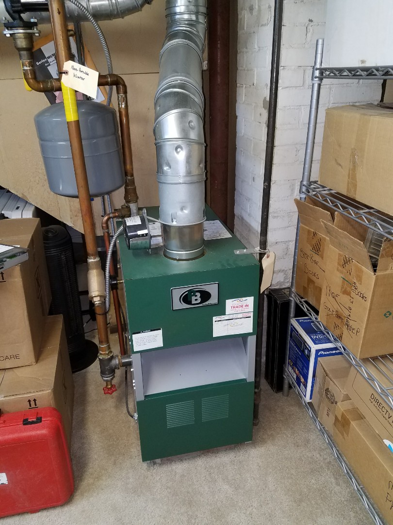 Wayzata, MN - Peerless boiler tune up and clean