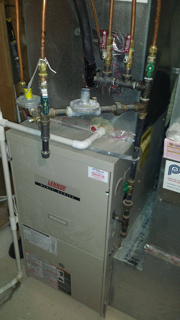 Maple Grove, MN - Furnace issues on Luxaire unit in Plymouth. Found plugged condensate trap and blockage causing furnace to not drain properly. Unit is now heating.