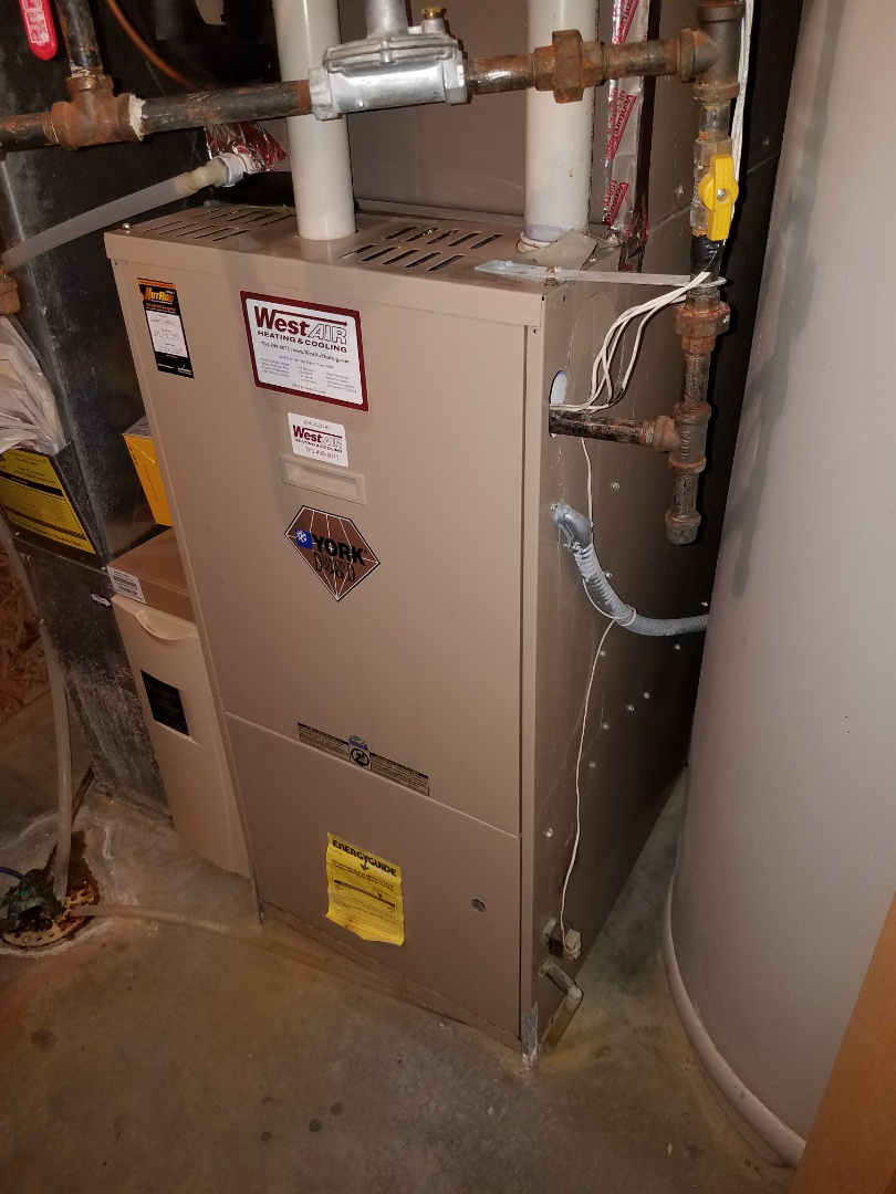 Rogers, MN - Furnace tune up on 90+% York unit in Corcoran. Also replaced ignitor and cleaned and tuned up Venmar air exchanger