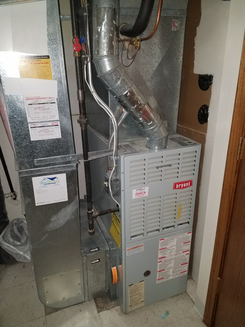 Plymouth, MN - Performed tune up and cleaning on Bryant furnace