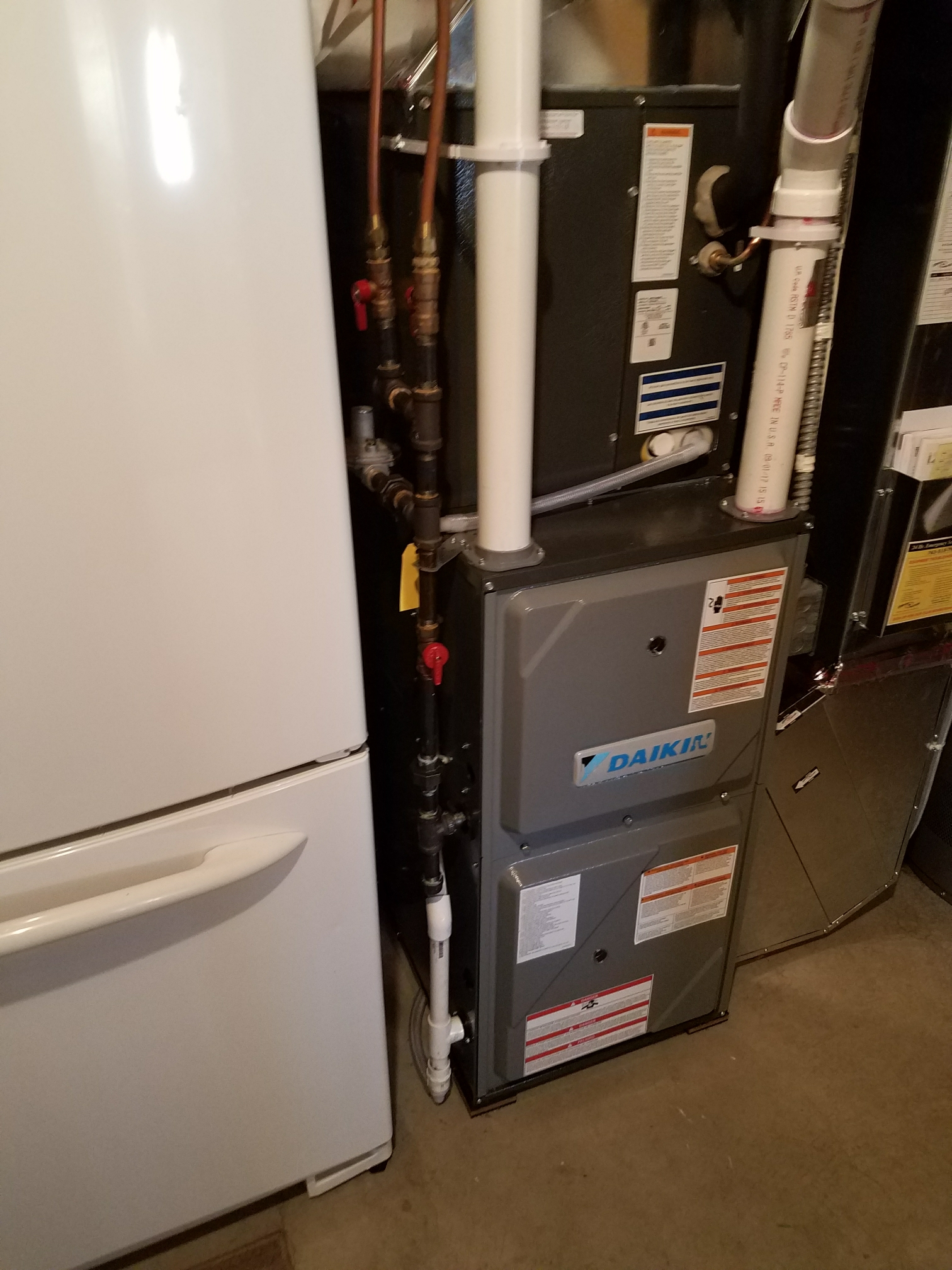 Maple Grove, MN - Installed daikin furnace and nest stat.