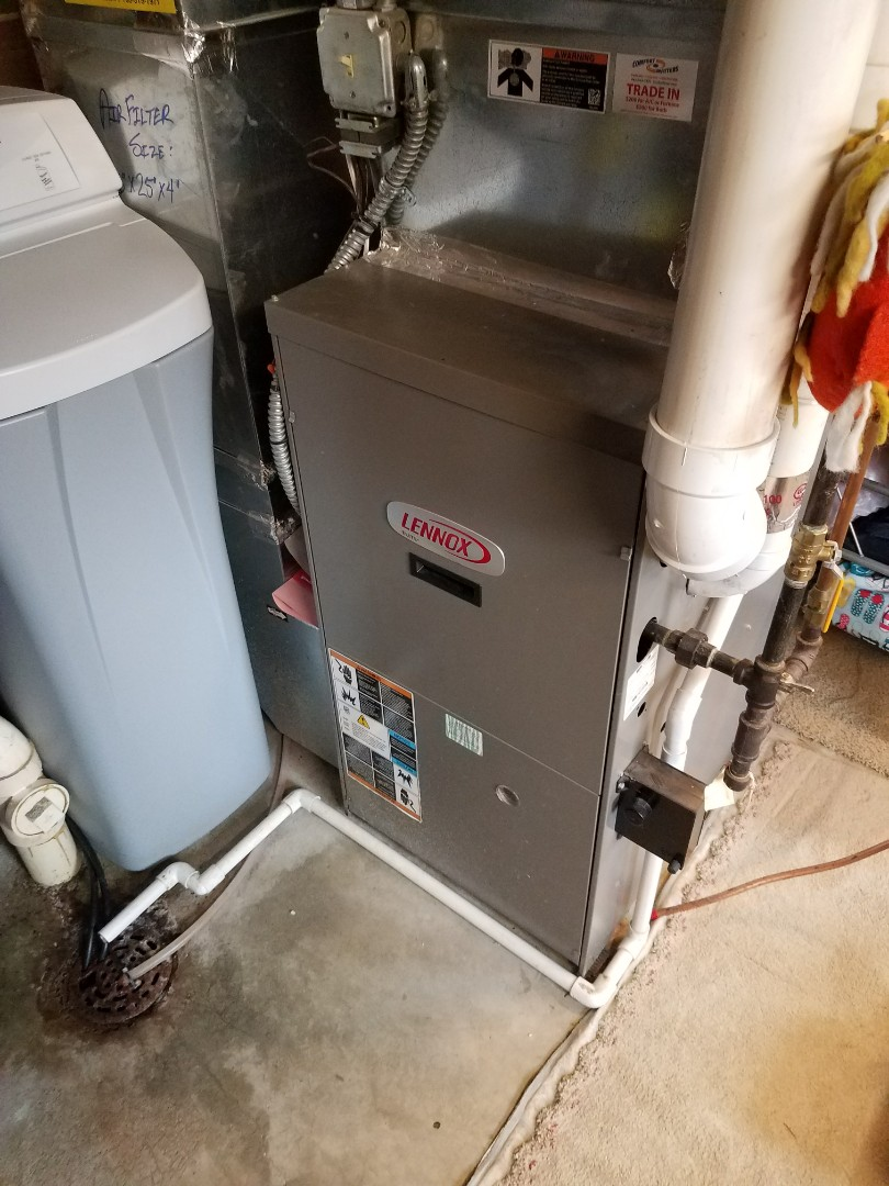 Plymouth, MN - Furnace tune up on 90+% Lennox unit in Plymouth.